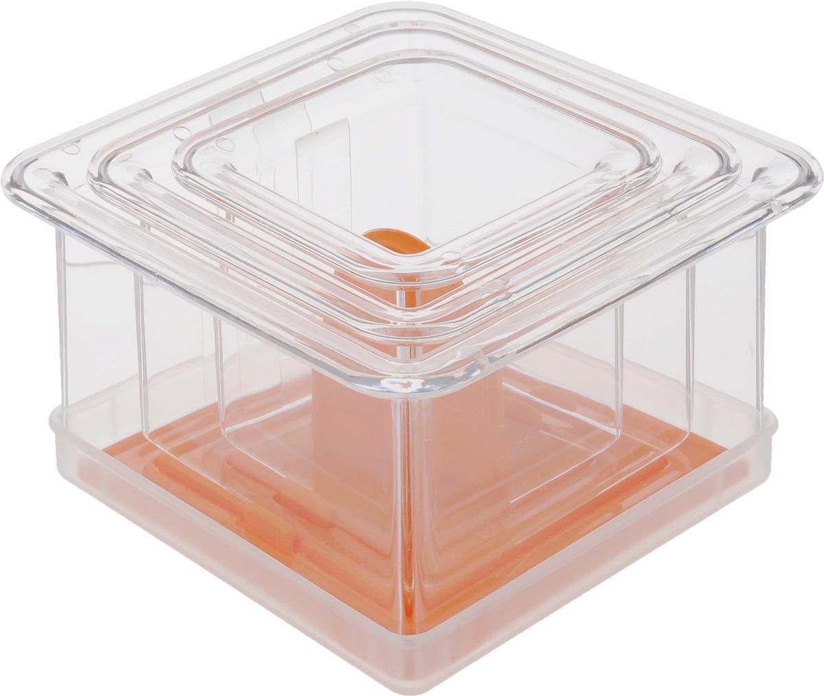 Набор для придания блюдам формы Tescoma Presto FoodStyle, квадраты422212Набор Tescoma Presto FoodStyle состоит из трех квадратных формочек, которые отлично подойдут для придания формы блюдам и приготовления многослойных закусок, гарниров и десертов. В комплект входят 3 квадратные формы со шкалой для равномерной укладки слоев, универсальный пресс и крышка для хранения. Предметы набора изготовлены из прочного пищевого пластика. Можно мыть в посудомоечной машине. В комплекте прилагается инструкция по эксплуатации и рецепты. Внутренний размер форм: 9 х 9 см; 7 х 7 см; 5 х 5 см.