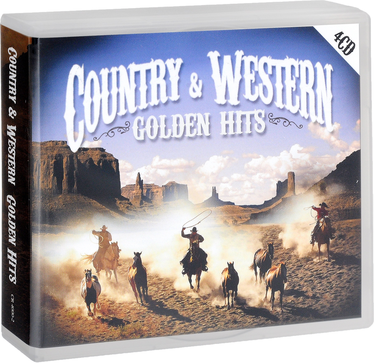 Джонни Кэш Country & Western. Golden Hits (4 CD)