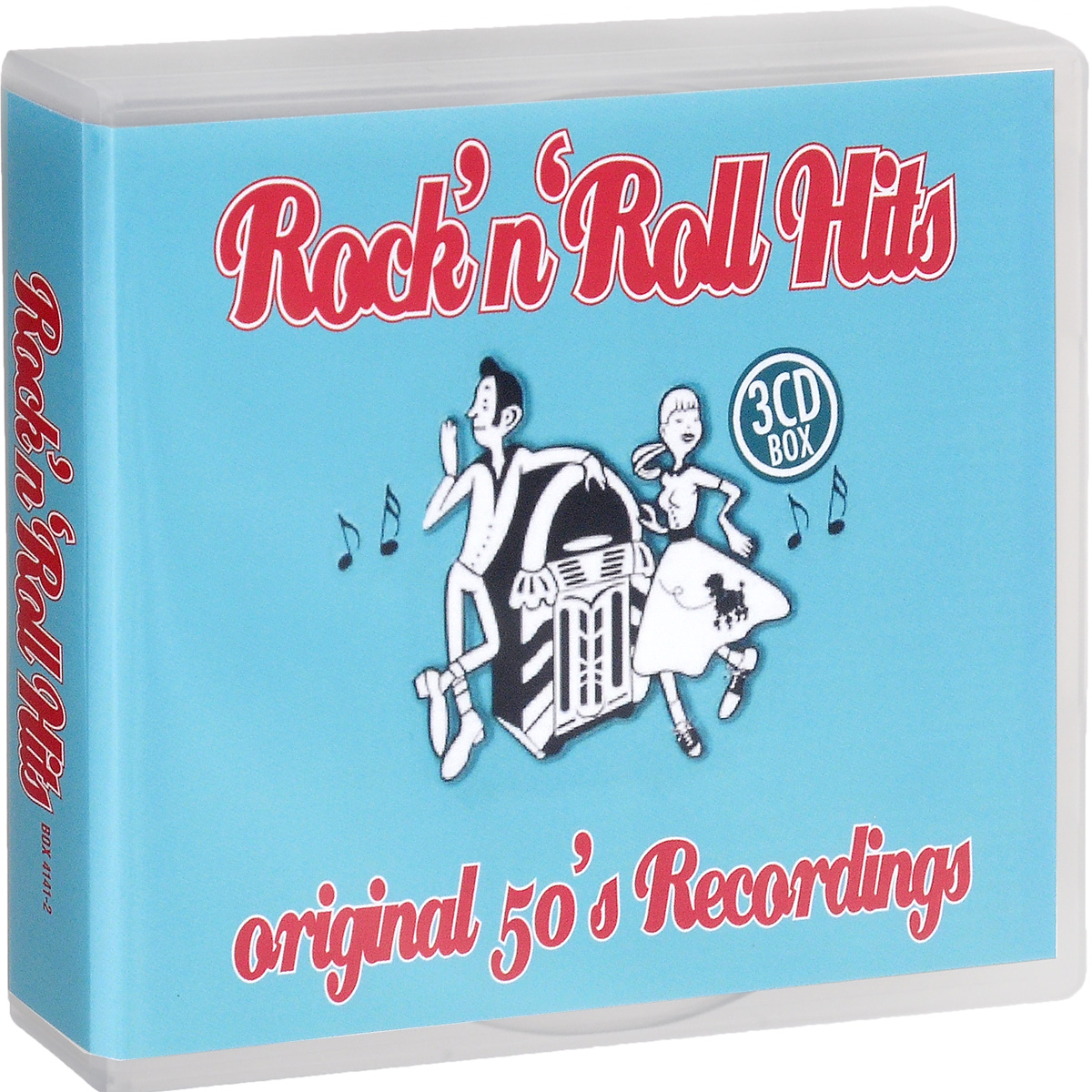 Rock 'N' Roll Hits. Original 50's Recordings (3 CD) 10pcs free shipping stp80nf70 80nf70 p80nf70 to 220 80a 70v mosfet n ch 68v 0 0082 ohm new original