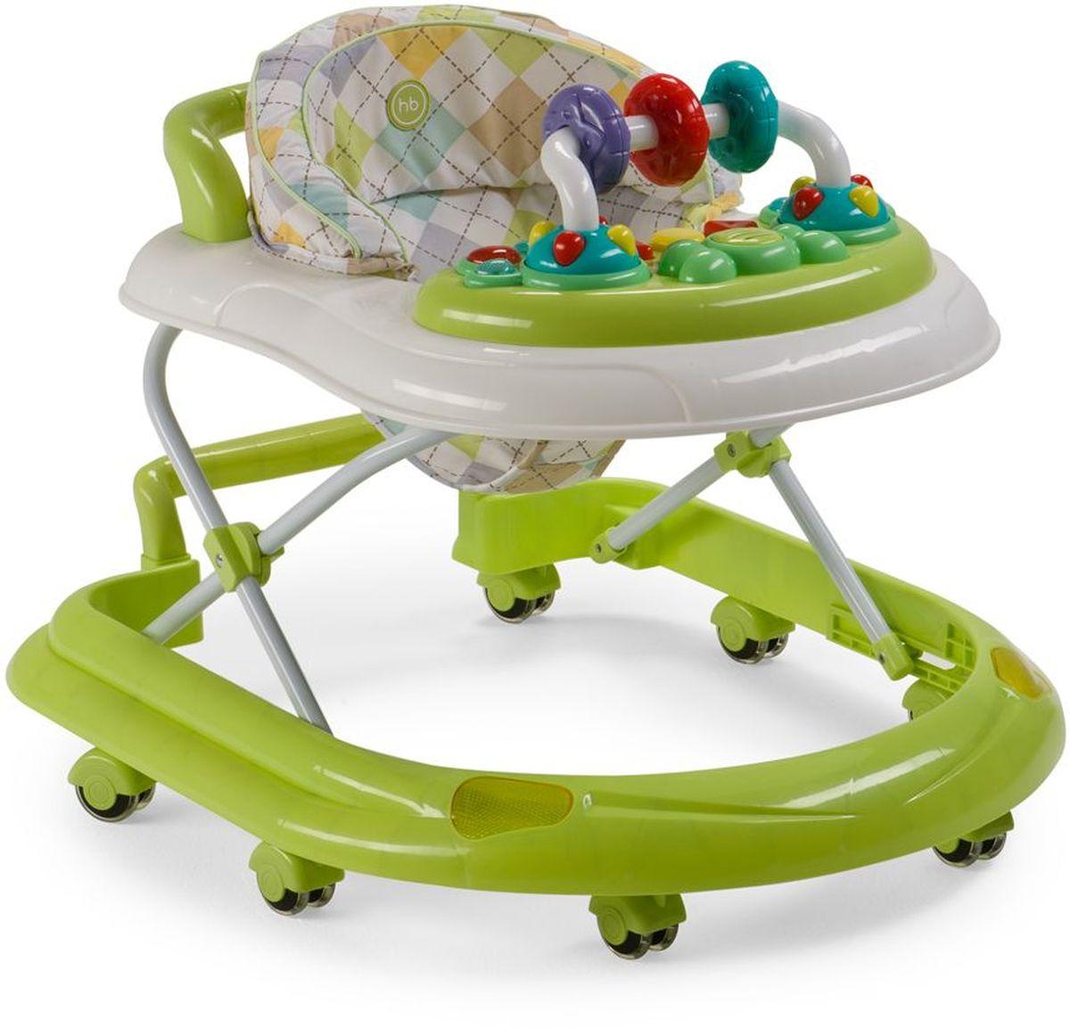 Happy Baby Ходунки Smiley V2 цвет зеленый ходунки happy baby smiley v2 blue