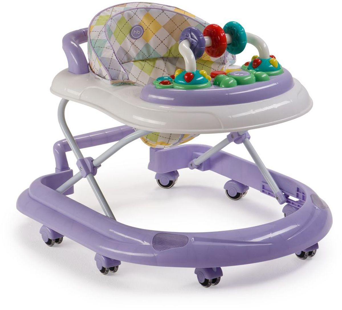 Happy Baby Ходунки Smiley V2 цвет лиловый ходунки happy baby smiley v2 blue