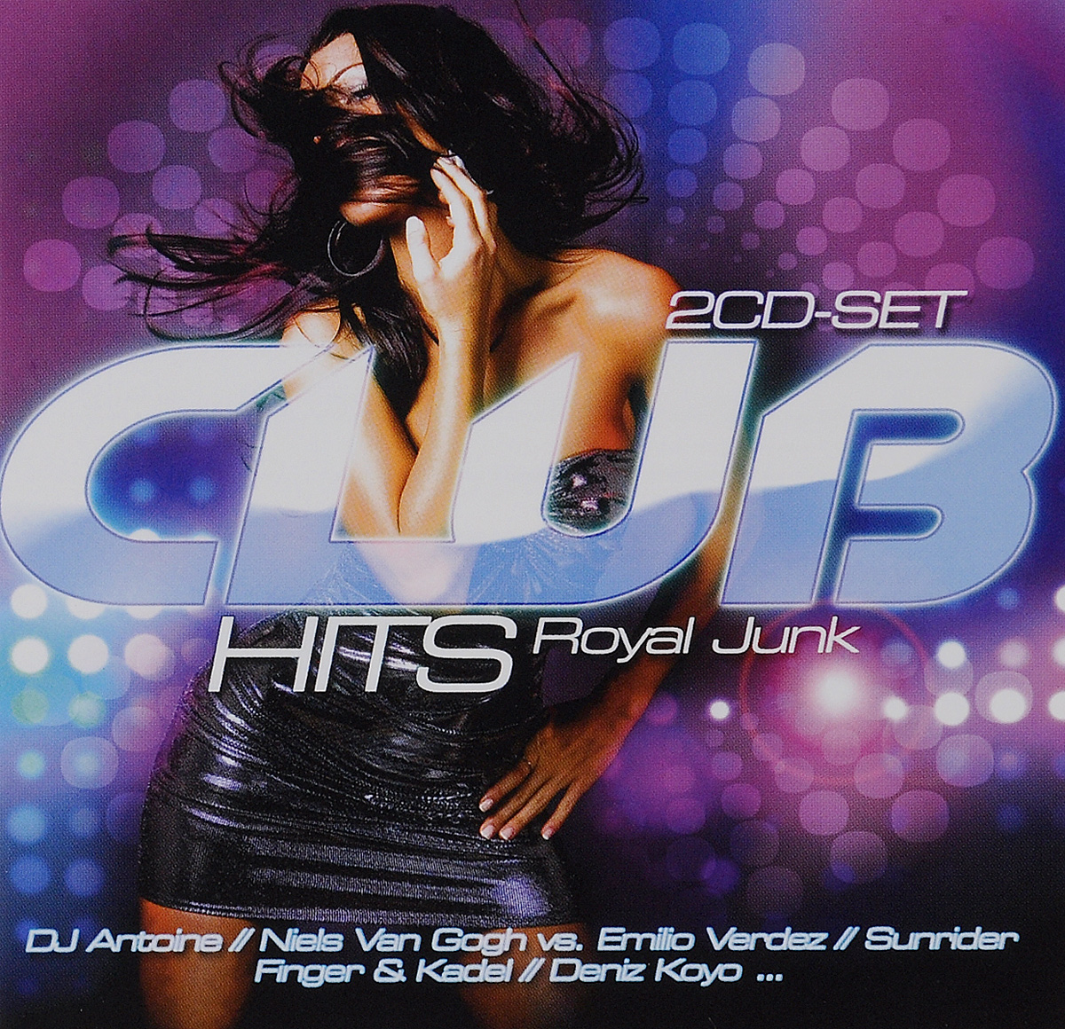 DJ Antoine Club Hits Royal Junk (2 CD) nr 1 club hits best of dance & techno 2 cd