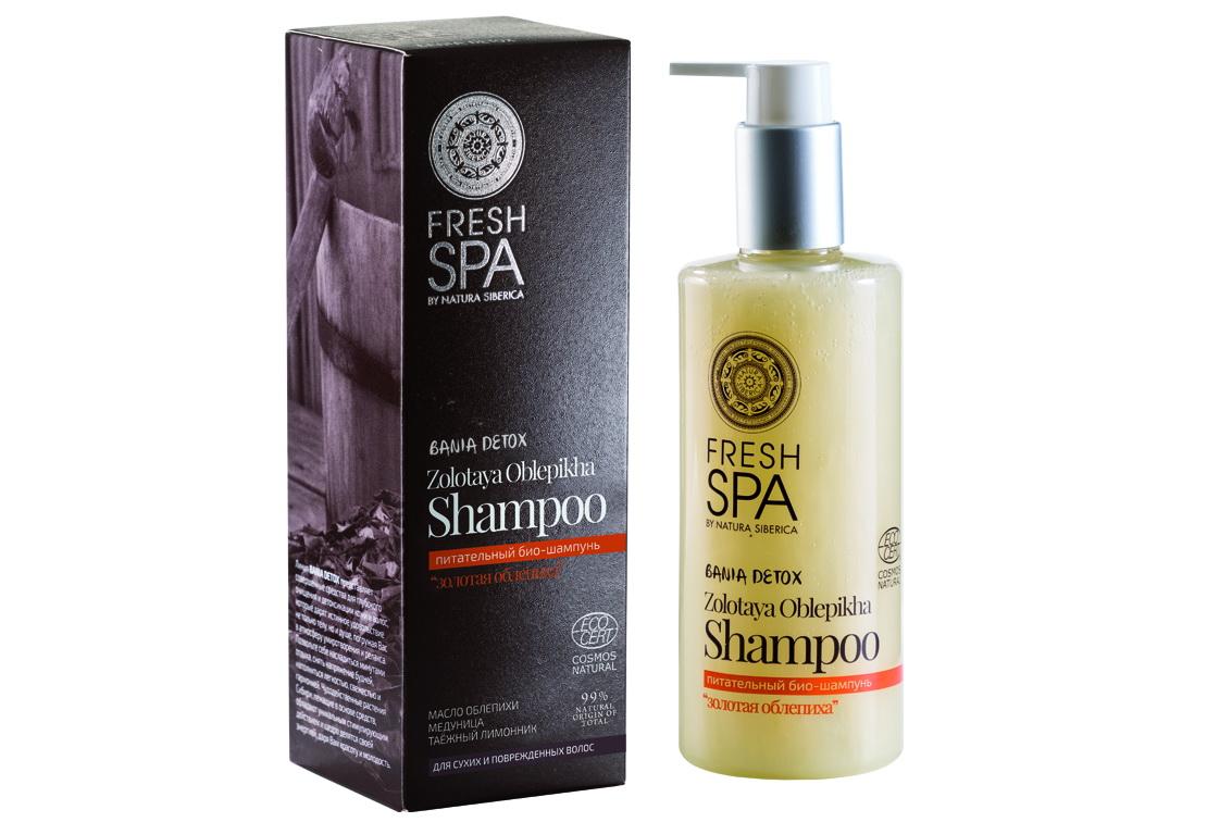 Fresh Spa Шампунь питательный Bania Detox Золотая облепиха, 300 мл