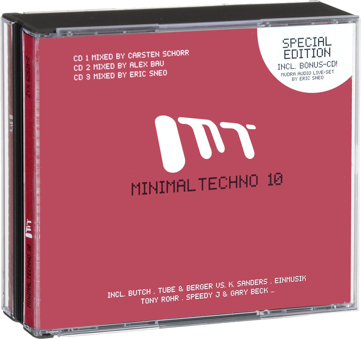 Minimal Techno 10 (3 CD) minimal house 3 2 cd