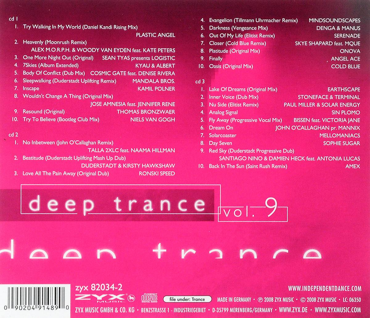 Deep Trance Vol.  9 (3 CD) ZYX Music