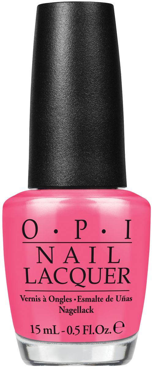 OPI Лак для ногтей Kiss Me Im Brazilian, 15 млNLA68Лак для ногтей OPI быстросохнущий, содержит натуральный шелк и аминокислоты. Увлажняет и ухаживает за ногтями. Форма флакона, колпачка и кисти специально разработаны для удобного использования и запатентованы.Как ухаживать за ногтями: советы эксперта. Статья OZON Гид