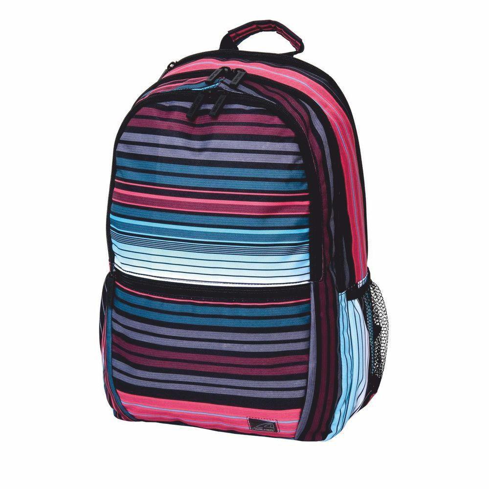 Walker Рюкзак школьный для девочки Snap Classic Scale Stripes walker рюкзак школьный base classic tornado