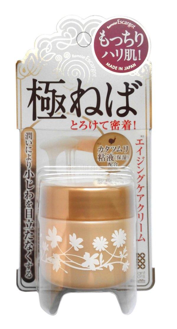 Meishoku Крем для сухой кожи лица с экстрактом слизи улиток, 30 г164194Крем с экстрактом слизи улиток прекрасно увлажняет зрелую сухую кожу, придает ей упругость и эластичность. Предотвращает процесс старения, активизирует регенерацию кожи.Активные компоненты: Экстракт слизи улиток является кладовой природных компонентов, необходимых коже. Содержит аллантоин, коллаген, витамины А, С, Е, В6 и В12, микроэлементы (медь, цинк, железо и др. ), эластин, хитозан, фермент протеаза, гликолевую кислоту. Удерживает влагу в коже и придает ей упругость.Экстракт солодки увлажняет и смягчает сухую кожу. Обладает ранозаживляющим действием.Экстракт корня кровохлебки лекарственной содержит витамины А и С. Обладает противовоспалительным действием.Крем имеет вязкую текстуру, но не создает ощущения липкости. Легко наносится, хорошо впитывается. Может использоваться для любых участков кожи, подверженных сухости.Имеет низкую кислотность. Не содержит ароматизаторов и синтетических красителей.