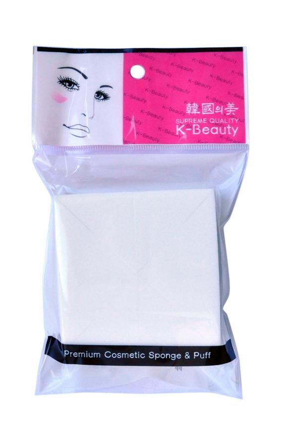 K-Beauty Спонж косметический Квадрат 8 шт300096Косметический спонж предназначен для нанесения тональных средств (корректора, тонального крема, румян, пудры и т.д.), а также коррекции макияжа. Спонж позволяет равномерно распределить не только сухие, но и кремовые текстуры, а его удобная треугольная форма подходит для обработки таких труднодоступных зон, как область вокруг глаз и носогубные складки.Упаковка состоит из 8 отрывных сегментов.Мягкий и нежный спонж не травмирует, подходит даже для чувствительной кожи.