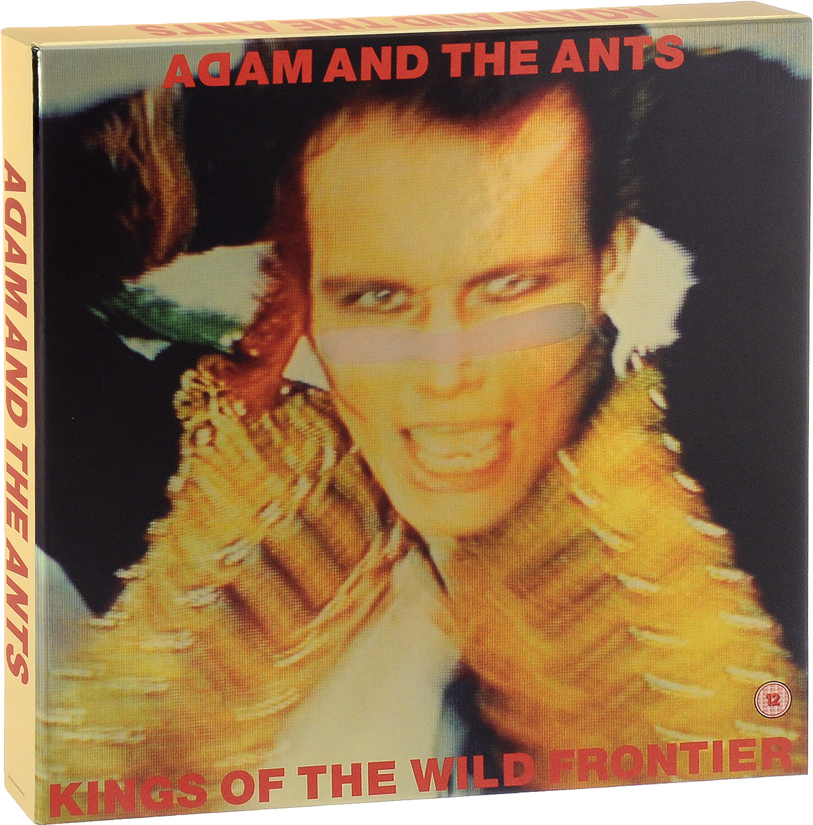 Adam And The Ants Adam & The Ants. Kings Of the Wild Frontier. 35th Anniversary (LP + 2 CD + DVD Gold Colored Vinyl) цареубийца ремастированный dvd