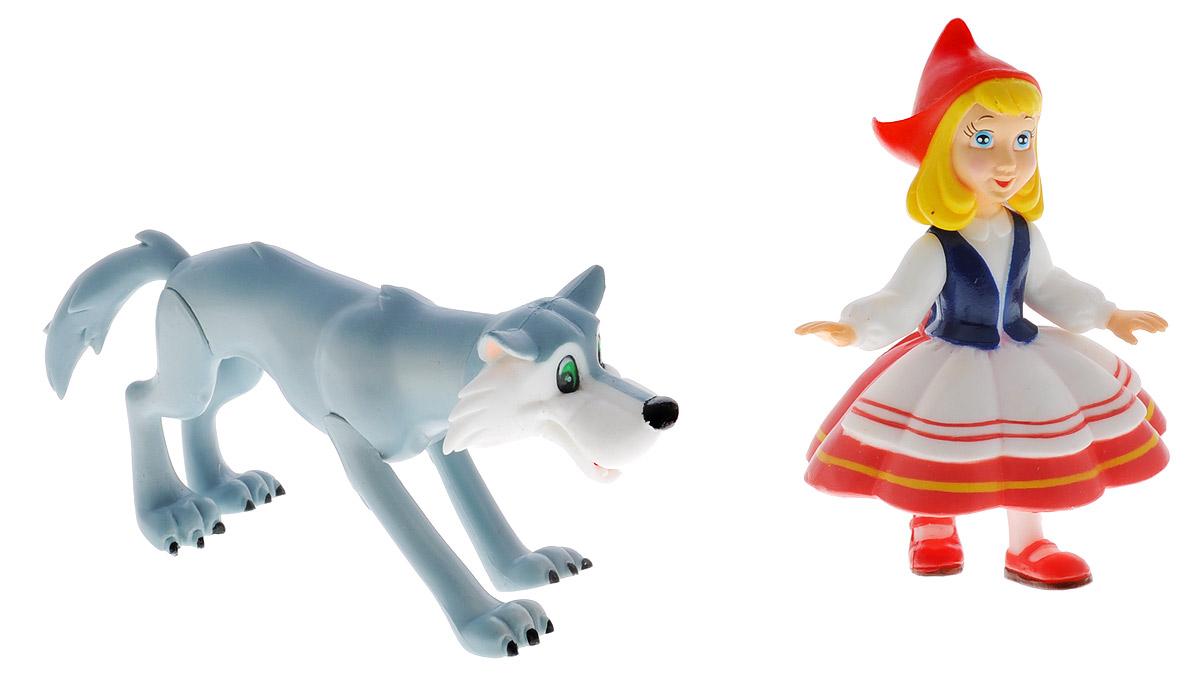 Играем вместе Набор фигурок Красная Шапочка и Волк заготовки под роспись играем вместе набор раскраска 2 фигурки красная шапочка волк