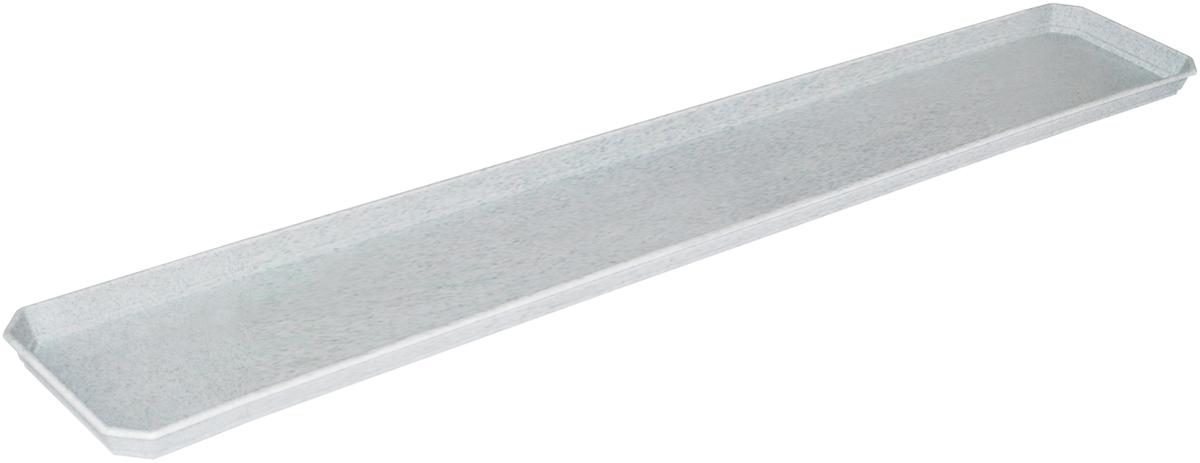 Поддон для балконного ящика InGreen, цвет: мраморный, длина 80 смING1080МРЛюбой, даже самый современный и продуманный интерьер будет не завершенным без растений. Они не только очищают воздух и насыщают его кислородом, но и заметно украшают окружающее пространство. Такому полезному члену семьи просто необходимо красивое и функциональное кашпо, оригинальный горшок или необычная ваза! Мы предлагаем - Поддон для балконного ящика 80 см, цвет мраморный! Оптимальный выбор материала - это пластмасса! Почему мы так считаем? Малый вес. С легкостью переносите горшки и кашпо с места на место, ставьте их на столики или полки, подвешивайте под потолок, не беспокоясь о нагрузке. Простота ухода. Пластиковые изделия не нуждаются в специальных условиях хранения. Их легко чистить достаточно просто сполоснуть теплой водой. Никаких царапин. Пластиковые кашпо не царапают и не загрязняют поверхности, на которых стоят. Пластик дольше хранит влагу, а значит растение реже нуждается в поливе. Пластмасса не пропускает воздух корневой системе растения не грозят резкие перепады температур. Огромный выбор форм, декора и расцветок вы без труда подберете что-то, что идеально впишется в уже существующий интерьер. Соблюдая нехитрые правила ухода, вы можете заметно продлить срок службы горшков, вазонов и кашпо из пластика: всегда учитывайте размер кроны и корневой системы растения (при разрастании большое растение способно повредить маленький горшок) берегите изделие от воздействия прямых солнечных лучей, чтобы кашпо и горшки не выцветали держите кашпо и горшки из пластика подальше от нагревающихся поверхностей. Создавайте прекрасные цветочные композиции, выращивайте рассаду или необычные растения, а низкие цены позволят вам не ограничивать себя в выборе.