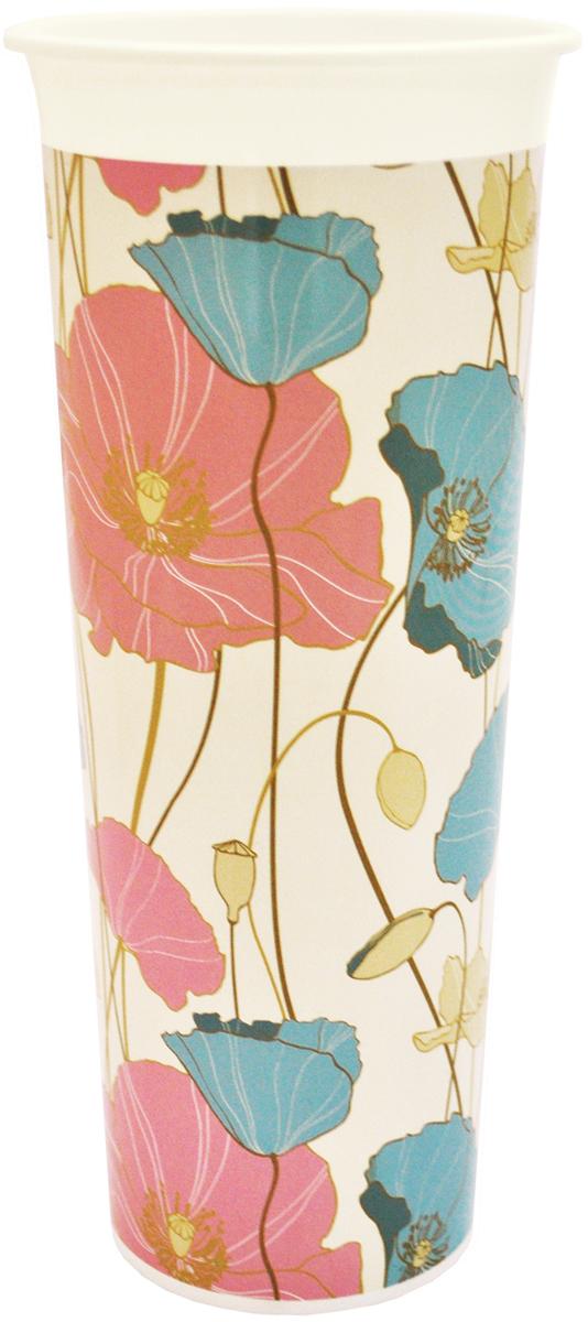Ваза InGreen Маки, высота 26 смING40002МАКВаза InGreen Маки выполнена из высококачественногопластика и имеет изысканный внешний вид. Такая ваза станет идеальным украшением интерьера и прекрасным подарком к любому случаю. Высота вазы: 26 см.