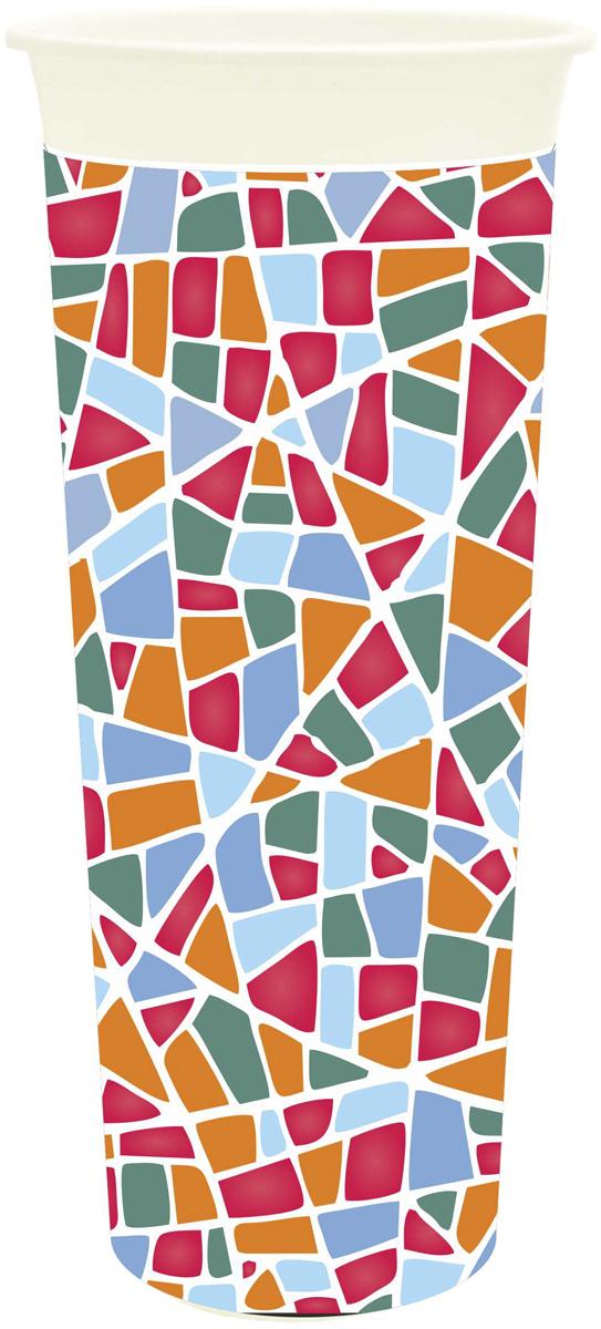 """Ваза InGreen """"Модерн"""" выполнена из высококачественного  пластика и имеет изысканный внешний вид. Такая ваза станет идеальным украшением интерьера и прекрасным подарком к любому случаю. Высота вазы: 26 см."""