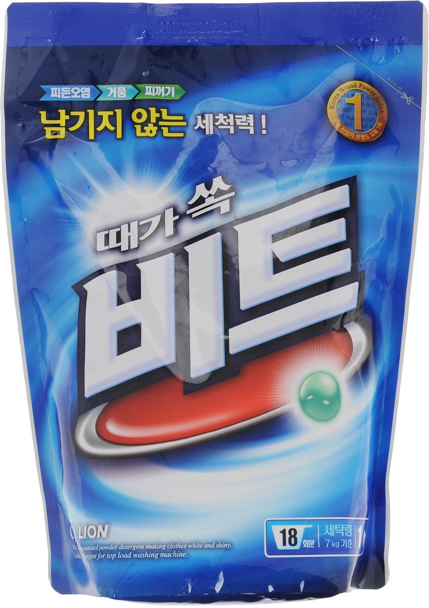 Стиральный порошок Cj Lion Beat, 1 кг cj lion шампунь для повреждённых волос riceday 550 г