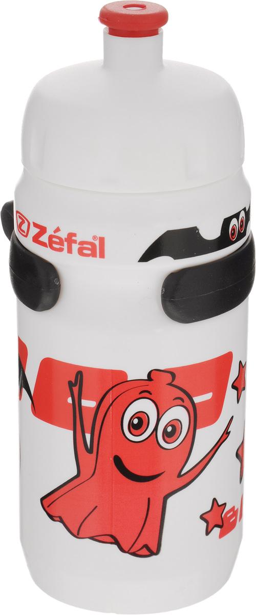 Фляга велосипедная детская Zefal Little Z, цвет: белый, красный, 350 мл162AВелосипедная фляга для детей Zefal Little Z изготовлена из пищевого пластика (без использования бисфенола и ПВХ). Внешние стенки изделия декорированы рисунком в виде привидения и летучих мышей. Фляга снабжена специальным клапаном для удобного питья. Винтовая крышка с легкостью откручивается, а широкое горлышко позволяет аккуратно наполнять фляжку. Фляга снабжена специальным держателем для крепления к велосипеду. Высота фляги: 15,8 см.