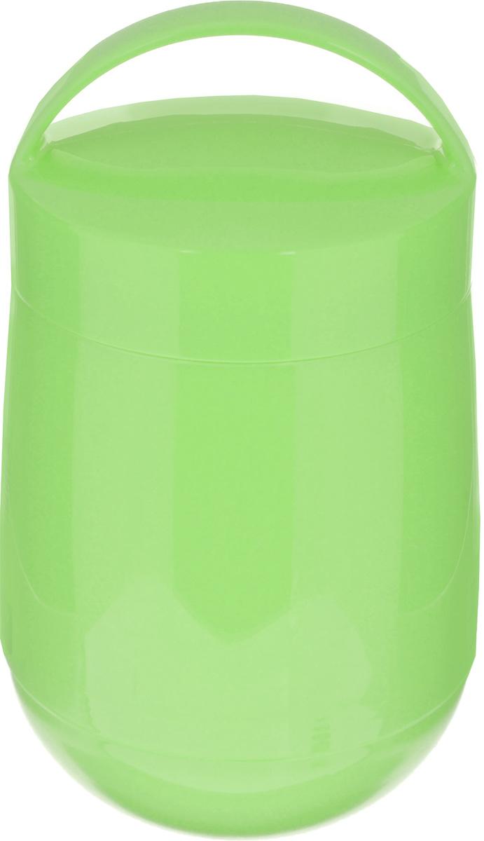 Термос для продуктов Tescoma Family, цвет: салатовый, 1,4 л310586Термос для продуктов Tescoma Family предназначен для хранения и переноски теплых и холодных блюд.Термос имеет две пластиковые емкости. Продукты можно хранить непосредственно в стеклянной колбе либо в пластиковых емкостях, которые вкладываются в изоляционную колбу. Особо рекомендуем использовать пластиковые емкости для продуктов с высоким содержанием жиров, сахара либо кислот, а также блюд, которые тяжело отмываются со стенок стеклянной колбы. Нейтральные продукты можно хранить непосредственно в изоляционной колбе.Термос имеет удобную ручку для транспортировки. Не рекомендуется мыть в посудомоечной машине.Диаметр малой чаши: 12 см.Высота малой чаши: 4,5 см.Диаметр большой чаши: 12 см.Высота большой чаши: 16,5 см.Диаметр термоса: 11,5 см.Высота термоса без учета крышки: 19,5 см.