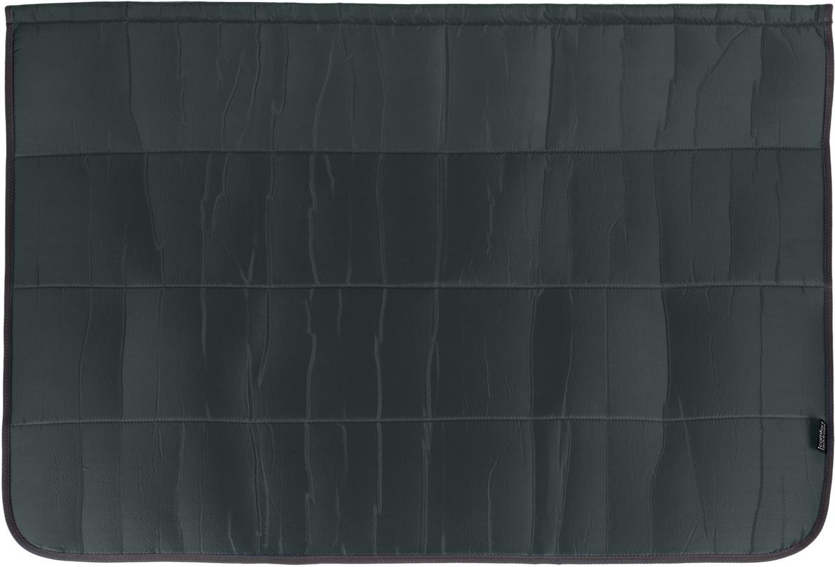 Накидка на бампер Comfort Adress, цвет: серый, 100 х 75 смdaf 013_темно-серыйНакидка на бампер Comfort Adress создана защищать одежду от грязи, а бампер - от царапин. Не испачкать брюки о грязный бампер, комфортно доставать сумки из багажника - желание каждого водителя. А царапины, оставленные на бампере большими чемоданами отпускников - ведь это влияет на стоимость вашего автомобиля. Накидка, выполненная из плотной ткани, крепится к полу багажника на липучке. В сложенном виде она очень компактна и занимает всего 15 см. Легко стирается.