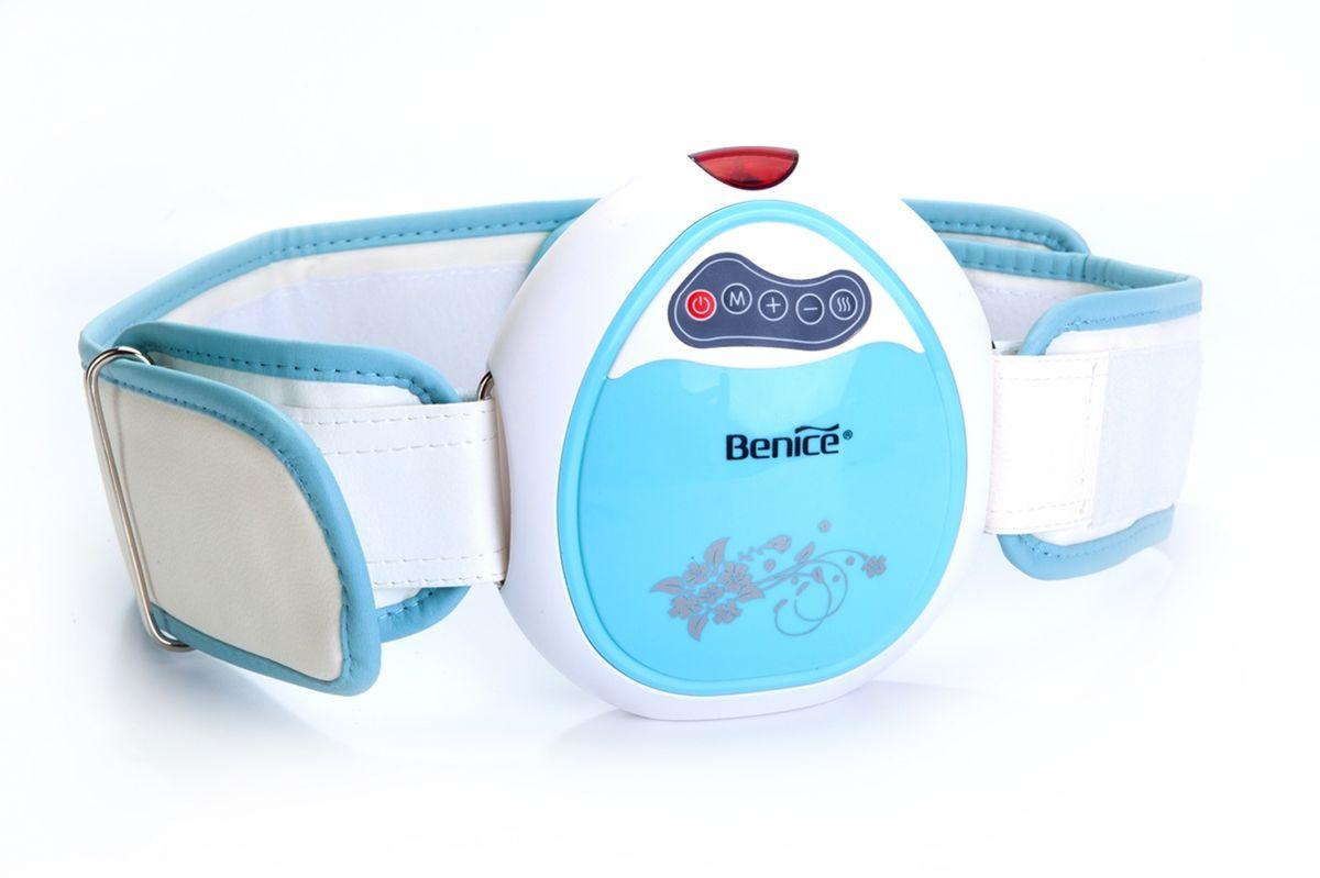 """Пояс массажный с инфракрасным излучением Bradex """"Мини Слимминг"""", цвет: белый, голубой. SF 0088"""
