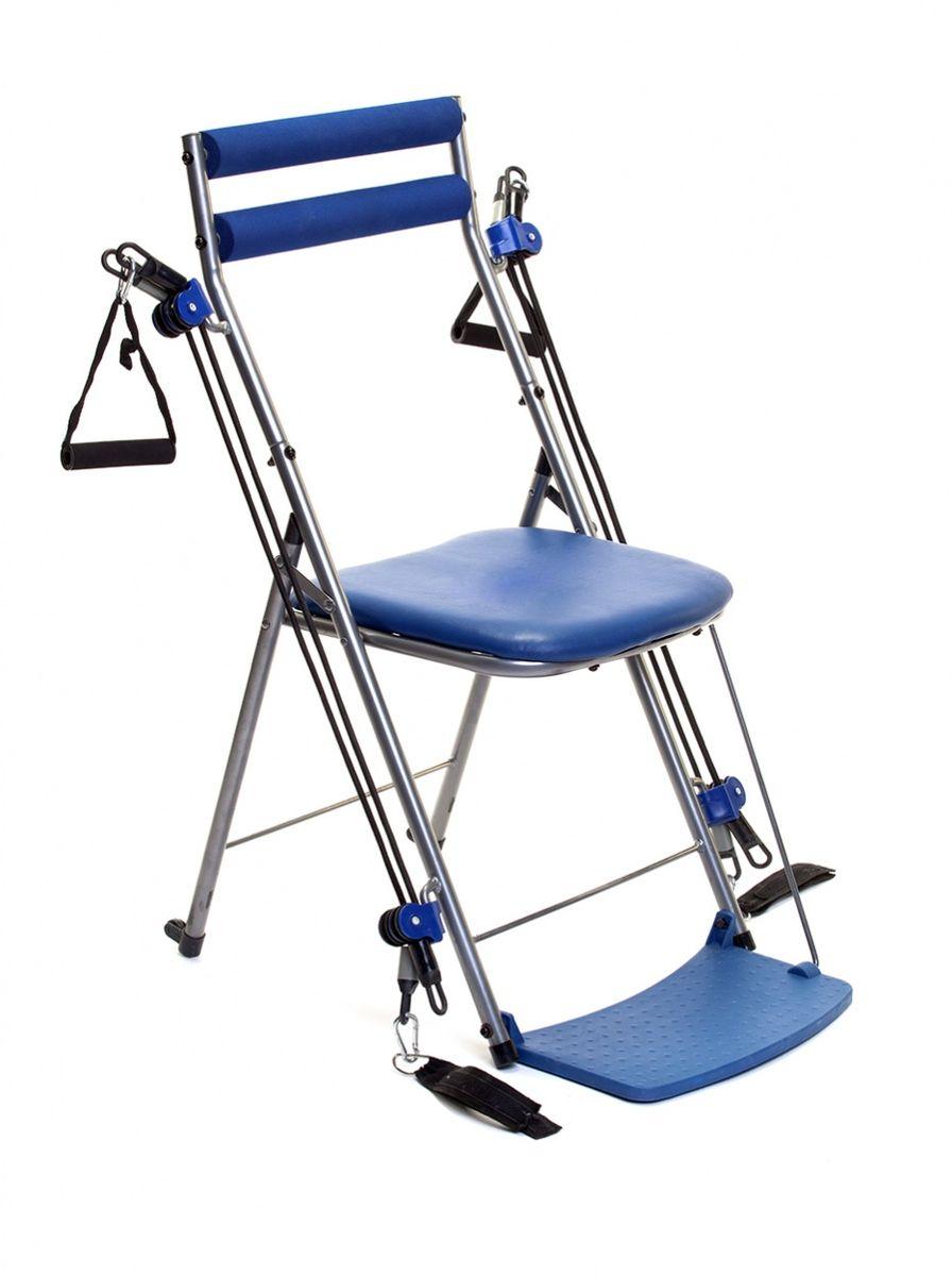 """Стул-тренажер Bradex """"Фитнес станция"""" изготовлен из качественных материалов. Его простая, но  эффективная структура позволяет: - эффективно тренировать все мышцы тела; - улучшать гибкость, эластичность мышц; - развивать выносливость. Выполняйте более 50 разных упражнений при помощи стула-тренажера прямо в офисе или у себя  в комнате. Этот удобный, безопасный и простой в использовании тренажер подходит для всех  возрастов и уровней натренированности. В сложенном виде он помещается под кроватью или в шкафу. Стул-тренажер Bradex """"Фитнес станция"""" - полноценная тренировка тогда, когда вам  удобно. Размеры: 110 х 54 х 12 см. Вес: 5,1 кг."""