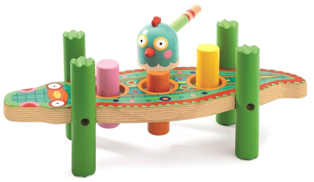 Djeco Развивающая игрушка Кикукрок конструкторы djeco развивающая игра прикрути колесо