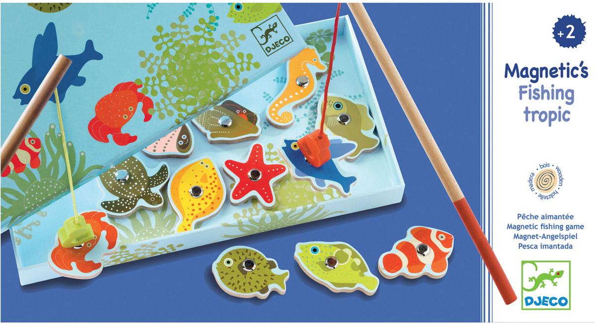 Djeco Обучающая игра Тропическая рыбалка djeco обучающая игра тропическая рыбалка