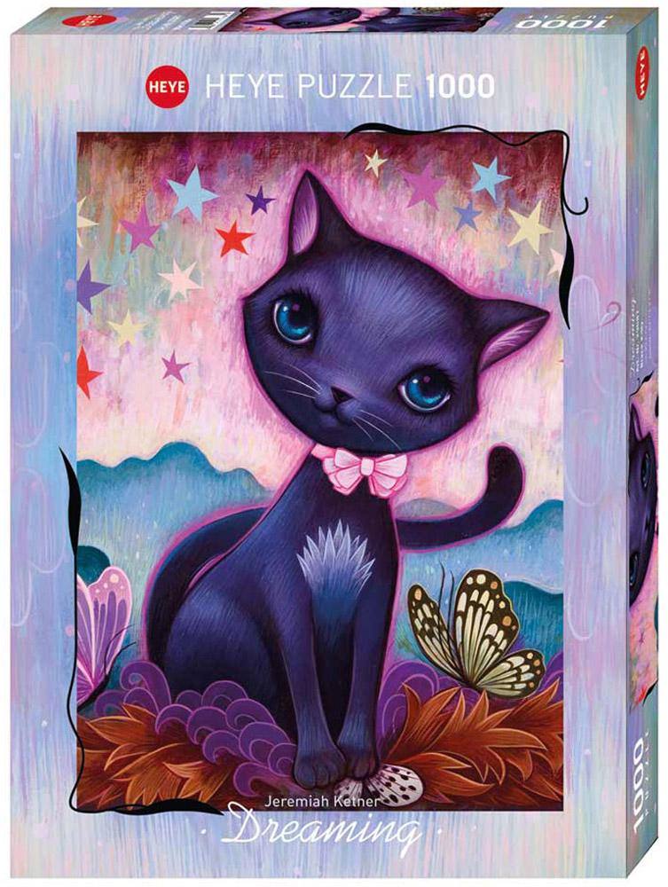 HEYE Пазл Черный котенок