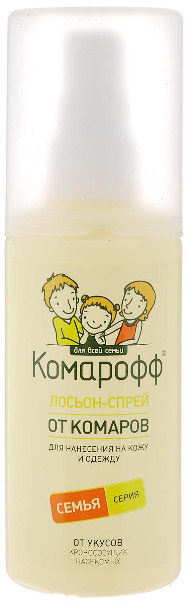 """Лосьон-спрей от насекомых """"Комарофф"""", 100 мл"""