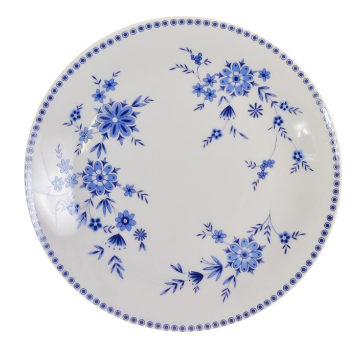 Тарелка десертная Seltmann Weiden Bavaria. Фарфор. Германия, 1960-е гг seltmann weiden trio blau блюдце для завтрака 17 5 см
