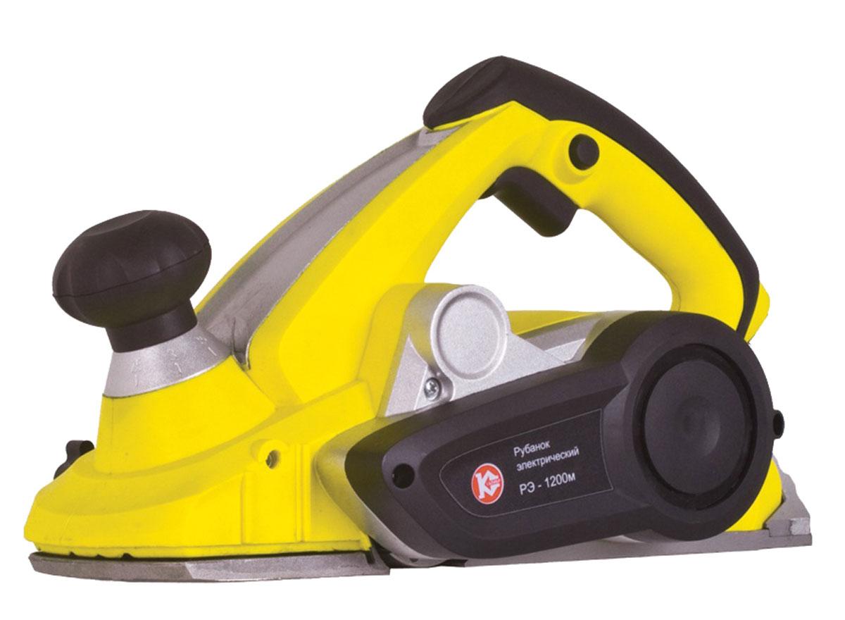 Рубанок электрический Калибр Мастер РЭ-1200М20603Рубанок Калибр Мастер РЭ-1200М - мощный инструмент, предназначенный для высокоточного строгания изделий из дерева, скашивания кромки и создания четвертей и шпунтов. Большая скорость вращения вала 13000 об/ мин и регулировка толщины строгания обеспечивают эффективное и быстрое выравнивание поверхностей. Характеристики: Потребляемая мощность: 1200 Вт. Число оборотов на холостом ходу: 13000 об/мин. Ширина строгания (за 1 проход): 110 мм. Глубина строгания (за 1 проход): 0 - 3,5 мм. Габариты в упаковке (ДхШхВ): 430 х 192 х 227 мм.
