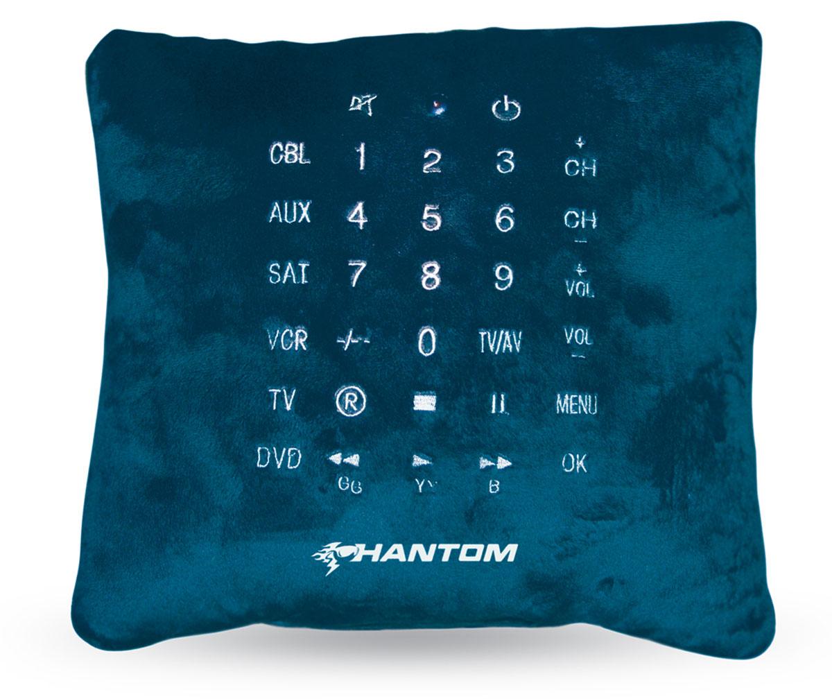Пульт-подушка Phantom, цвет: синий, 33 х 33 смPH6320_синий
