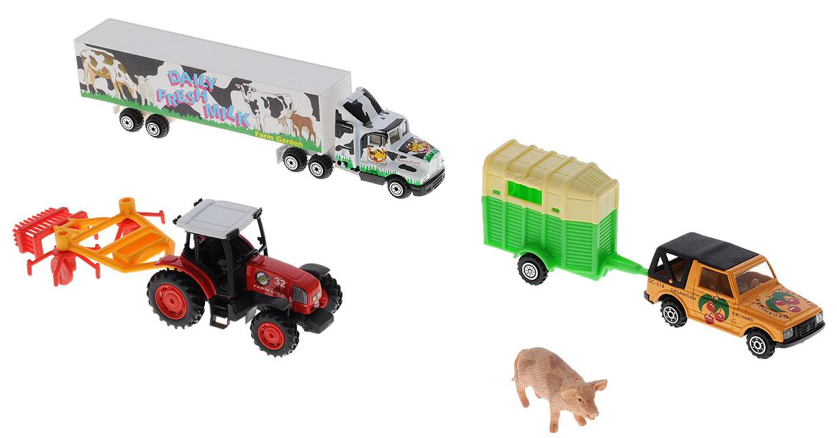 Pro-Engine Игровой набор Зеленая ферма со свиньей игровые наборы игрушки из дерева развивающая игрушка игровой набор ферма