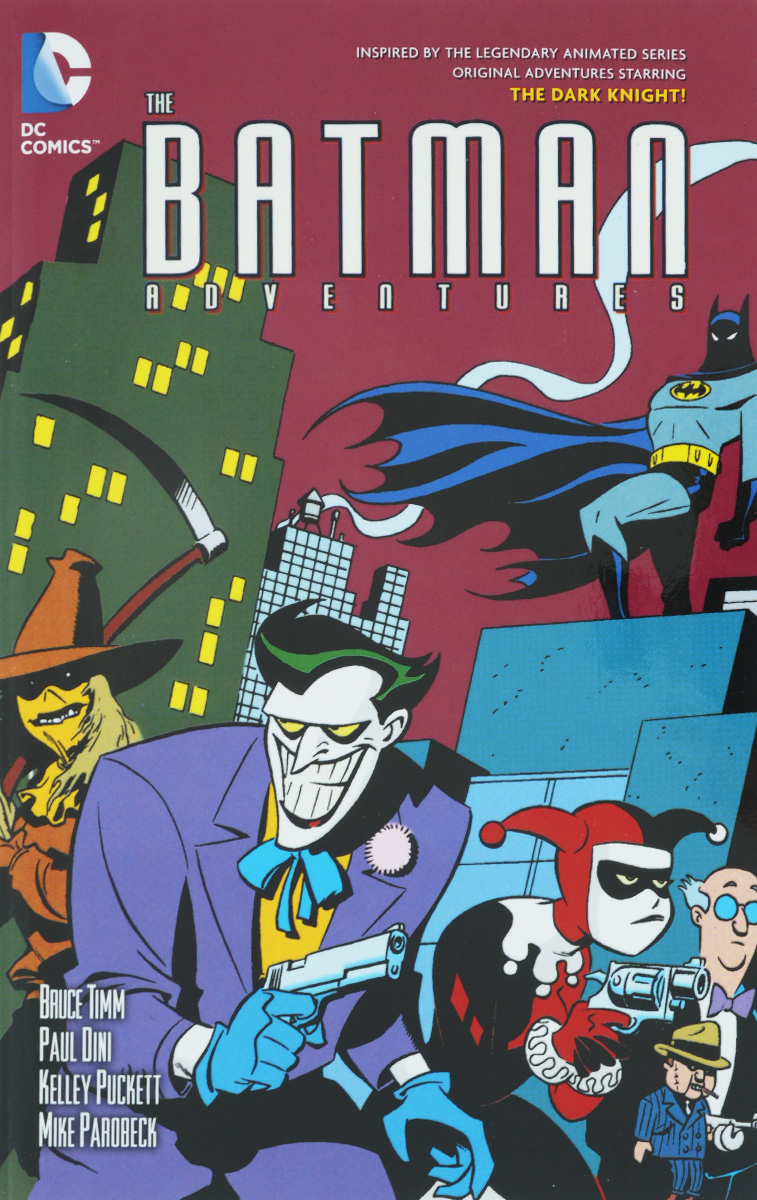 THE BATMAN ADVENTURES VOL. 3 batman 66 meets the man from u n c l e