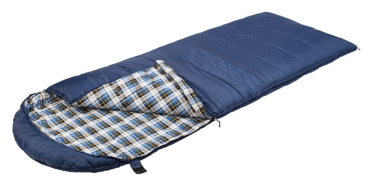 Спальный мешок TREK PLANET Belfast Comfort, цвет: темно-синий, левосторонняя молния70370-LКомфортный, просторный и теплый спальник-одеяло с капюшоном TREK PLANET Belfast Comfort предназначен для походов и для отдыха на природе в весенне-осенний период. К несомненным достоинствам этого спальника можно отнести использование мягкой фланели внутри спальника. Утеплен двумя слоями техничного 4-канального волокна Hollow Fiber. ОСОБЕННОСТИ СПАЛЬНИКА:- Глубокий удобный капюшон,- 4-канальный наполнитель Hollow Fiber,- Внешний материал - полиэстер,- Внутренняя ткань - мягкая фланель,- Молния имеет два замка с обеих сторон,- Мягкая фланель внутреннего материала,- Термоклапан вдоль молнии,- Внутренний карман,- Возможно состегивание спальников между собой - К спальнику прилагается компрессионный чехол из прочного полиэстера для удобного хранения и переноски.Характеристики:Цвет: темно-синийt° комфорт: 2°Ct° лимит комфорта: -5°Ct° экстрим: -15°C.Внешний материал: 100% полиэстер.Внутренний материал: 100% фланель,Утеплитель: Hollow Fiber 4Н 2x175 г/м2.Размер: (200+35) см х 85 см.