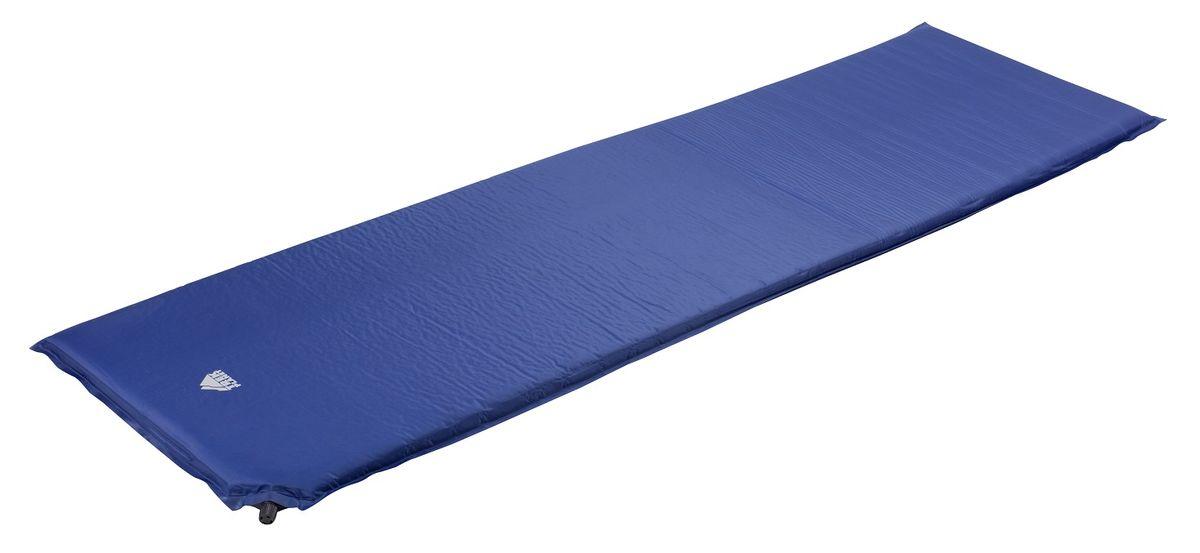 """Коврик TREK PLANET """"Active 25"""", самонадувающийся, цвет: синий, 183 х 51 х 2,5 см"""