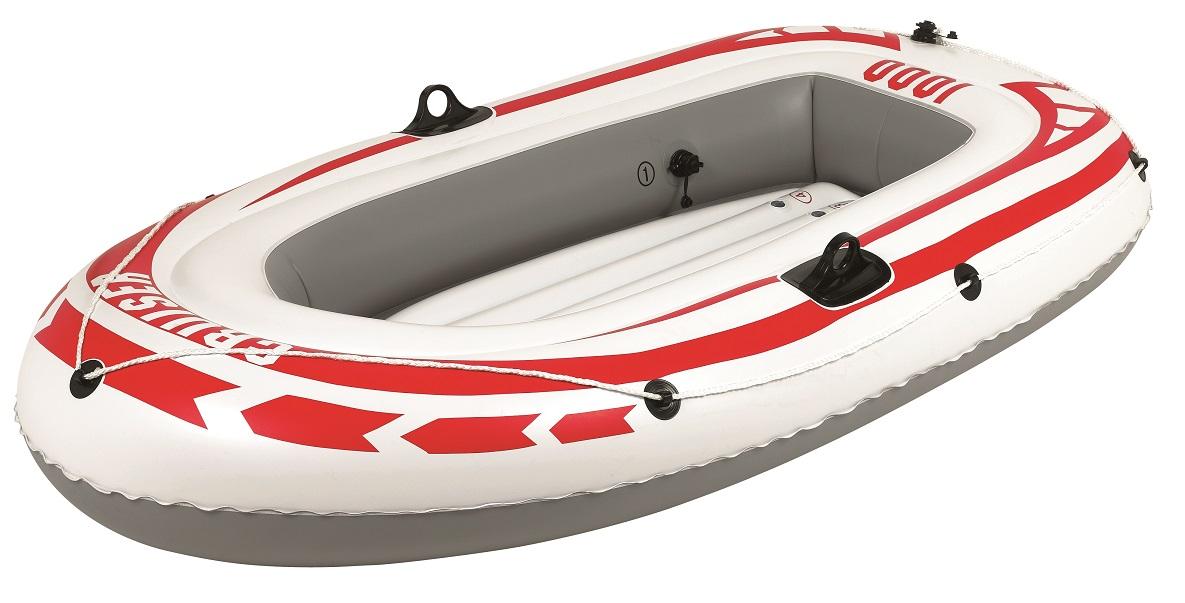 Лодка надувная Jilong Cruiser Boat CB1000, 185 х 98 х 28 см, цвет: серый