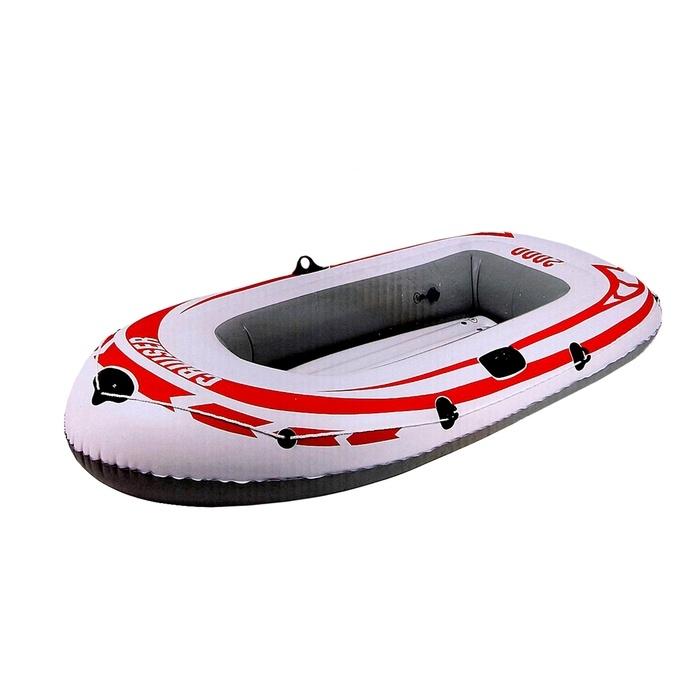 Лодка надувная Jilong Cruiser Boat CB2000, 218 х 110 х 36 см, цвет: серый