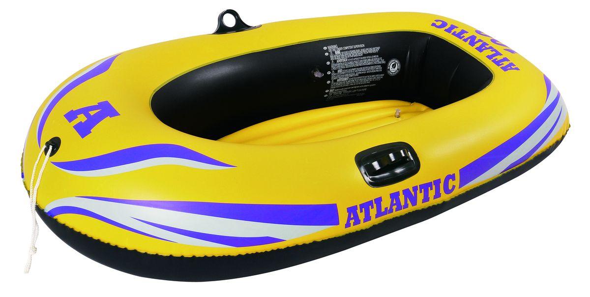 Лодка надувная Jilong Atlantic 100, цвет: желтый, 150 х 100 см