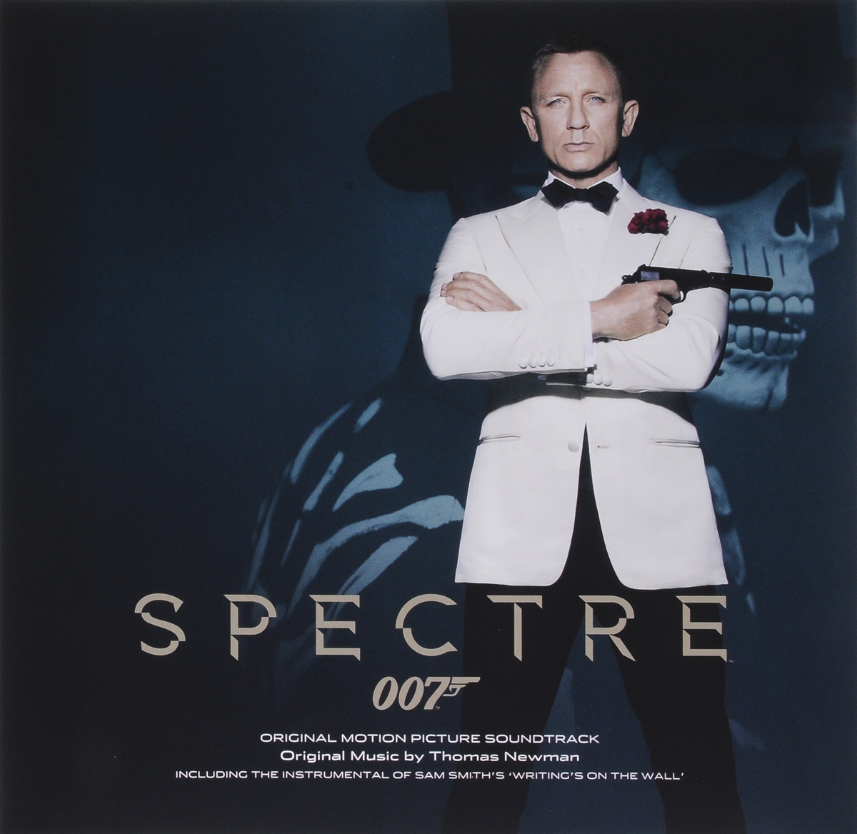 Spectre. Original Motion Picture Soundtrack. Original Music By Thomas Newman (LP) росмэн цветная бумага 10л 10цв мстители