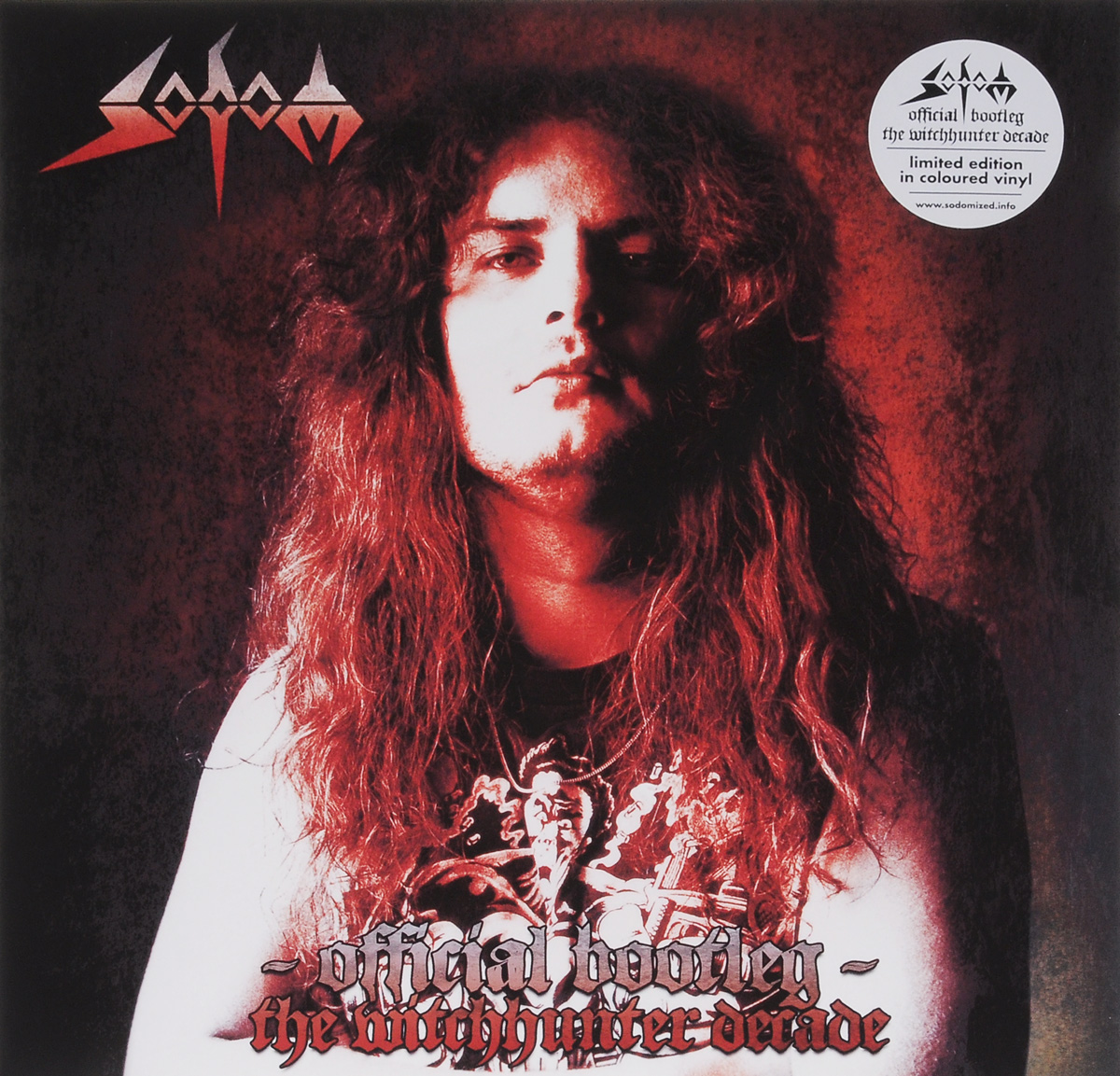 Sodom Sodom. Official Bootleg. The Witchhunter Decade. Limited Edition (2 LP) sodom sodom official bootleg the witchhunter decade limited edition 2 lp