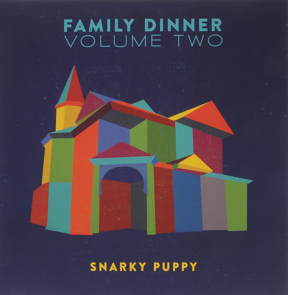 Snarky Puppy. Family Dinner. Volume 2 (2 LP + DVD)