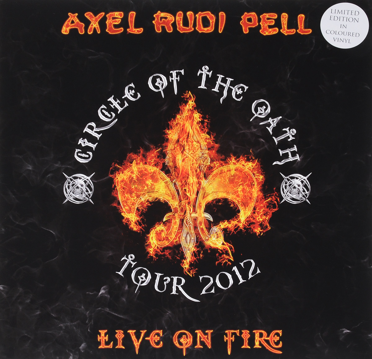 Аксель Руди Пелл Axel Rudi Pell. Live On Fire. Limited Edition In Colored Vinyl (3 LP) рубашка fore axel