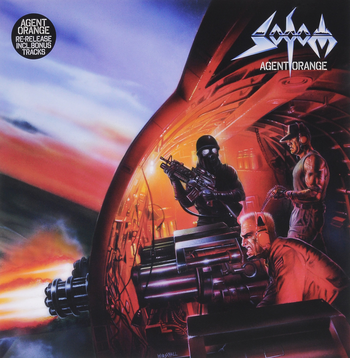 Sodom Sodom. Agent Orange (2 LP) sodom lords of depravity part i 2 dvd