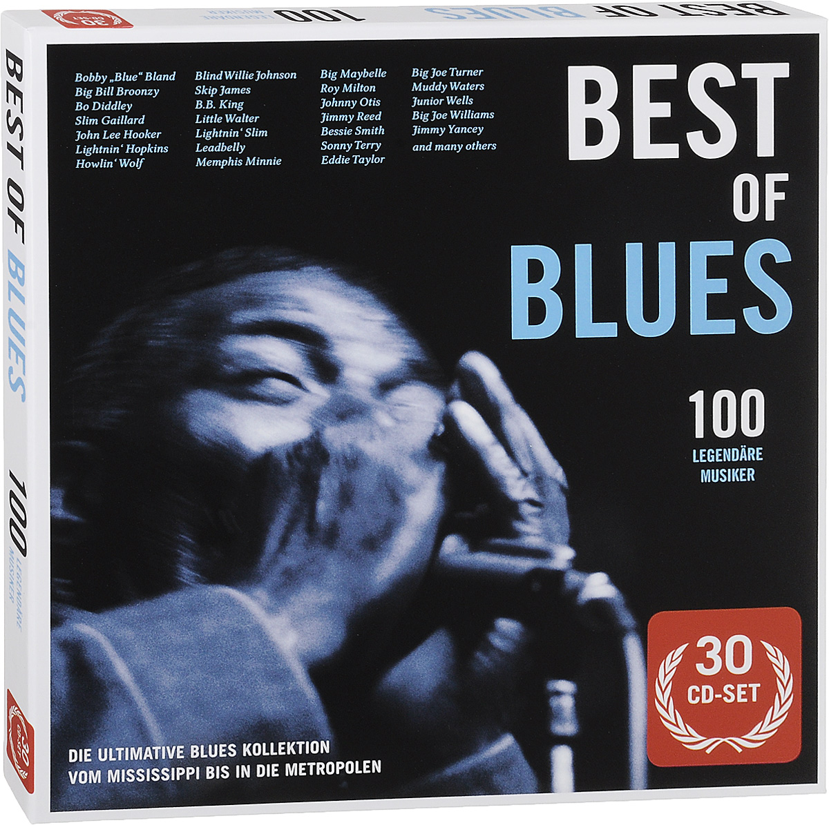 Best Of Blues (30 CD) die jaeger