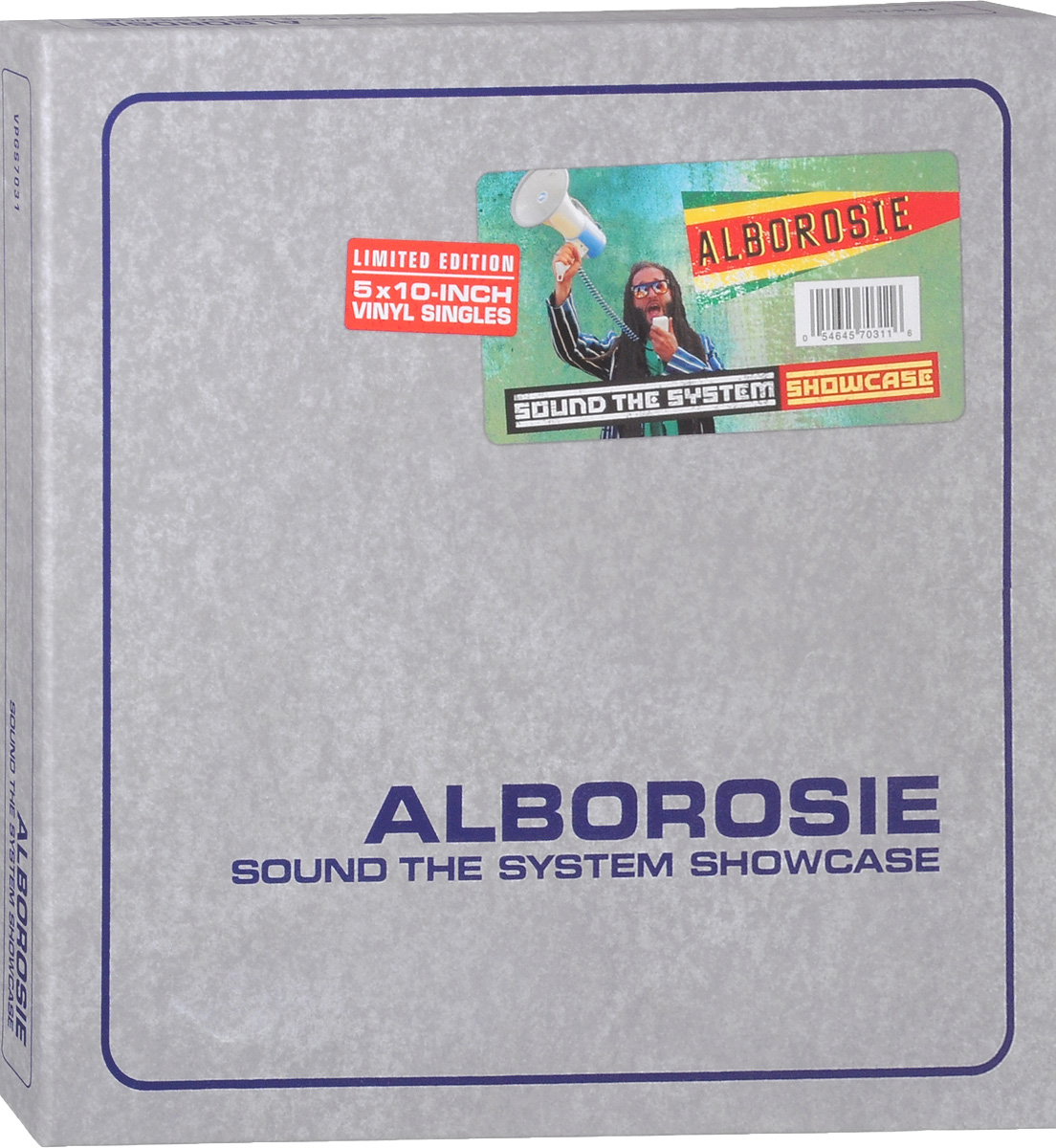 Alborosie Alborosie. Sound The System Showcase. Limited Edition (5 LP) black girl original sound track recording