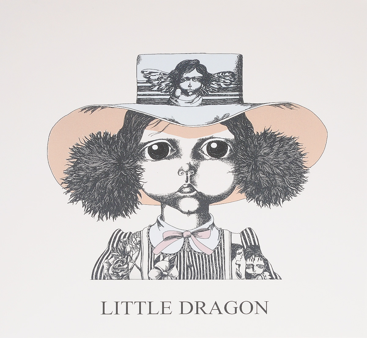 Little Dragon Little Dragon. Little Dragon (LP) 7 inch dragon handle professional grooming tool goods for pets japanese 440c steel cutting thinning shears for dog cat