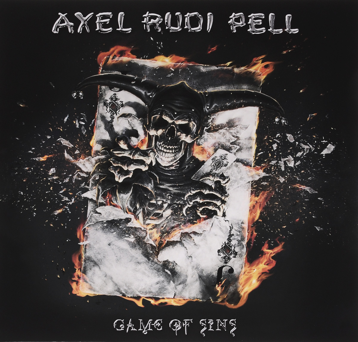 Аксель Руди Пелл Axel Rudi Pell. Game Of Sins (2 LP + CD) рубашка fore axel