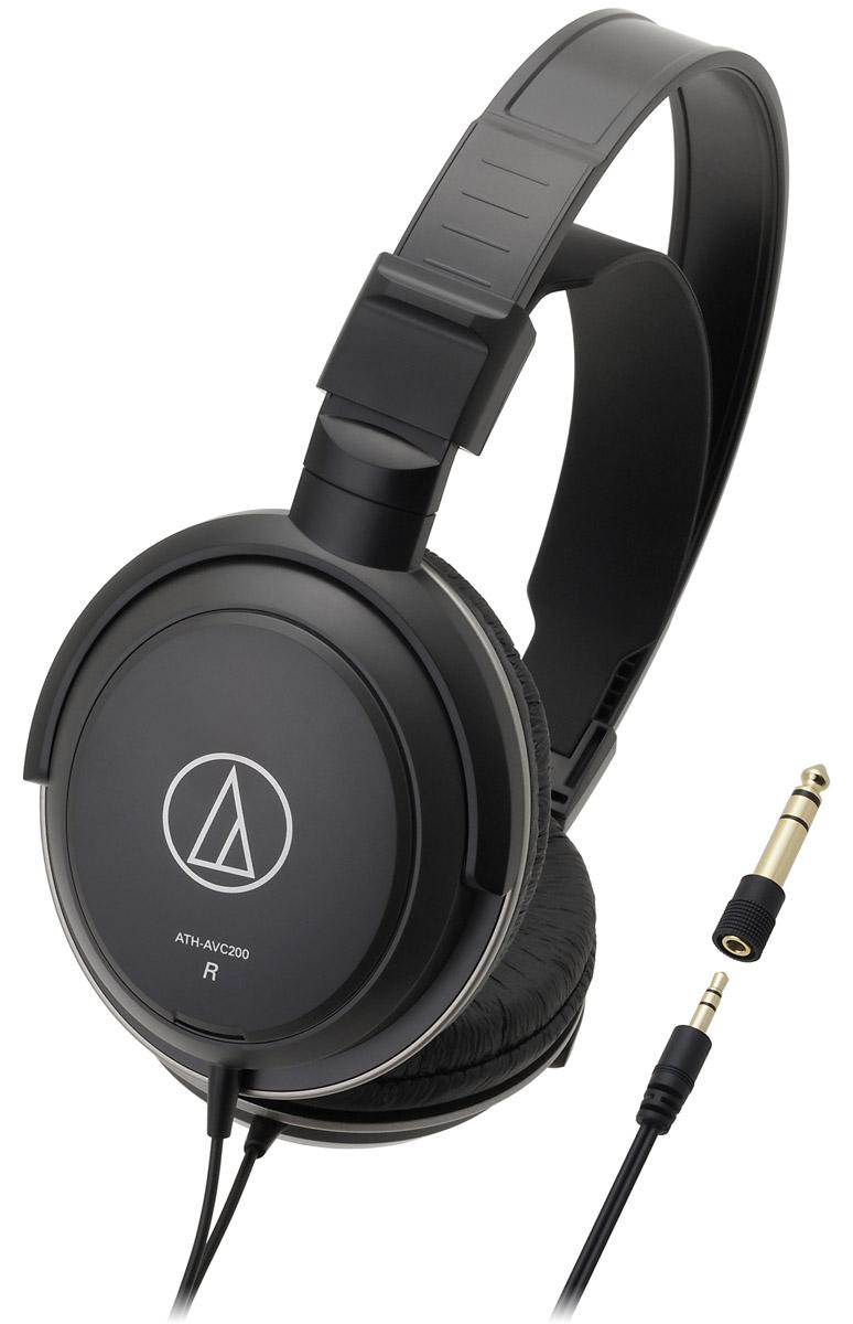 Audio-Technica ATH-AVC200 наушники4961310131975Audio-Technica ATH-AVC200 – закрытые наушники с удобной посадкой, предназначенные для использования с домашним аудио и видео. Они обеспечивают качественное звучание для того, чтобы вы могли получить массу впечатлений от любимой музыки и фильмов.Современные 40-миллиметровые драйверы генерируют чистое звучаниеПодстраиваемое оголовье гарантирует комфортную посадку даже при длительном ношенииАмбушюры плотно охватывают уши, что обеспечивает богатые басы