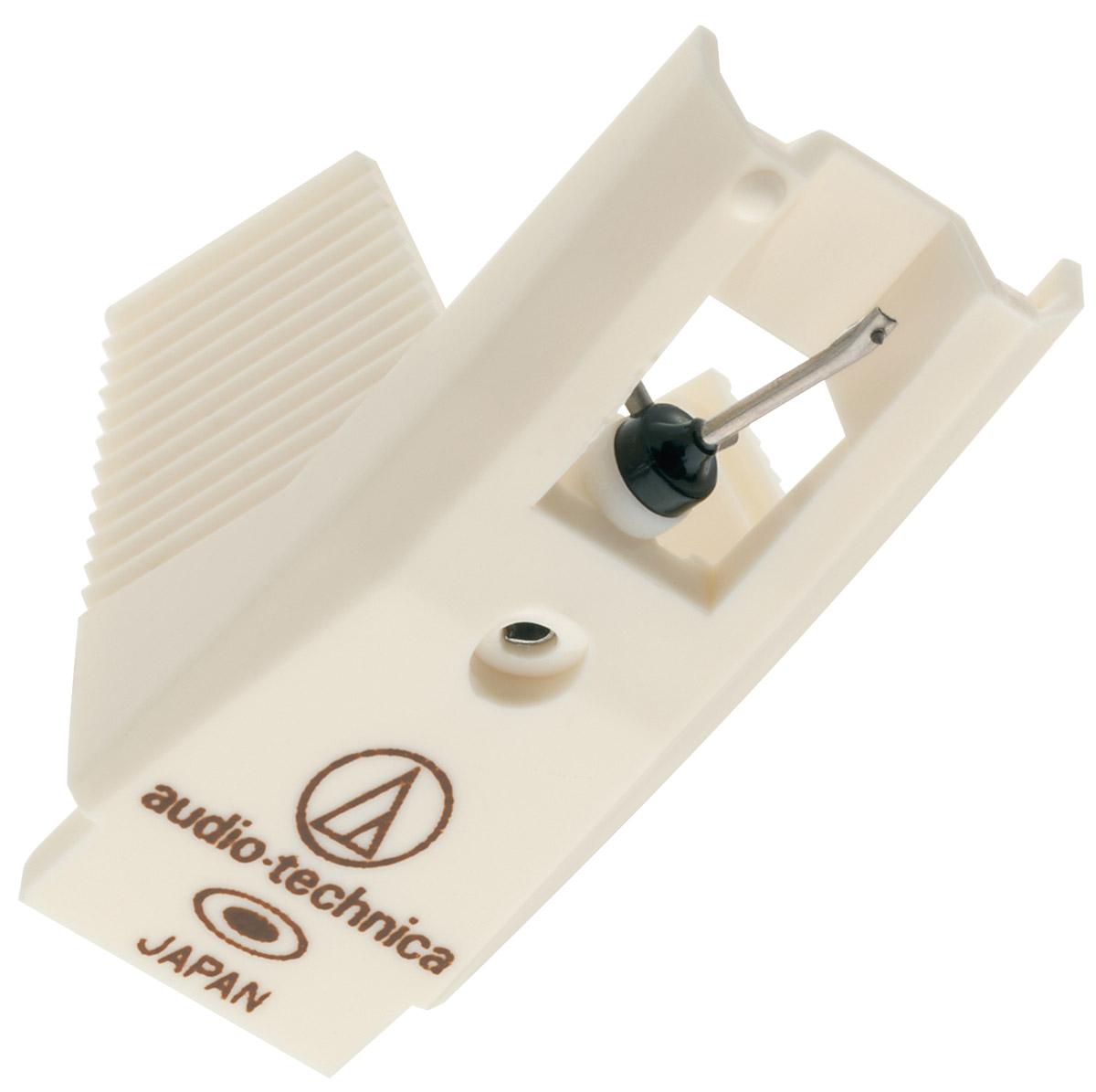 Audio-Technica ATN3472SE игла для звукоснимателя5055145748022Audio-Technica ATN3472SE сменная эллиптическая игла для звукоснимателя. Иглодержатель представляет собой тонкостенную трубку из прочного сплава. Подходит для звукоснимателей Audio-Technica AT92ECD, AT311EP и AT316EP. Работает в режиме 16, 33 или 45 об/мин, прижимная сила от 1 до 1,25 г.