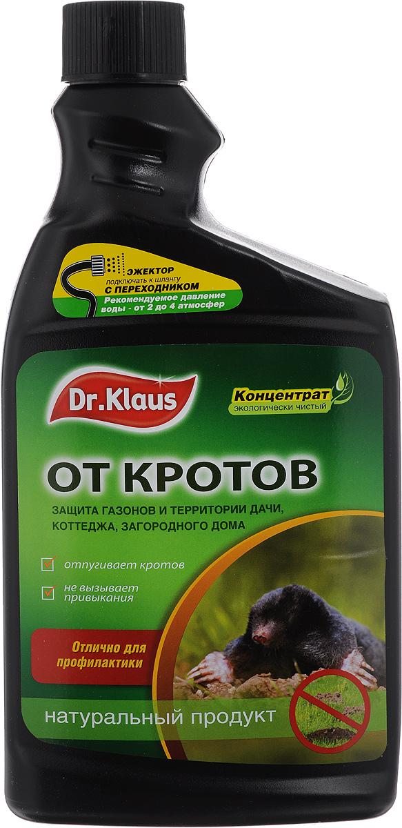Средство от кротов и мышей  Dr.Klaus , концентрат, сменный флакон, 1 л -  Защита от вредителей